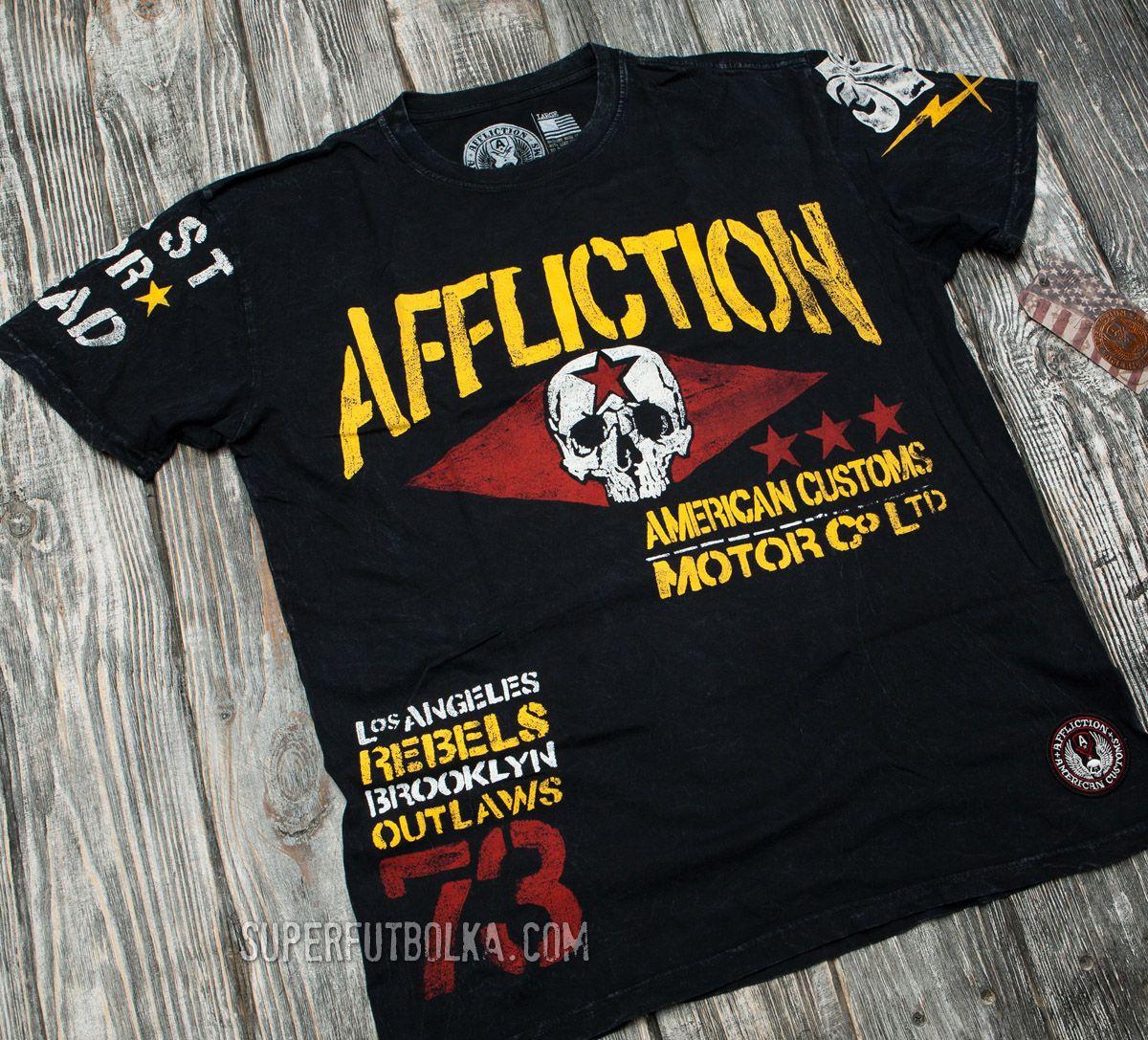 Affliction Футболки