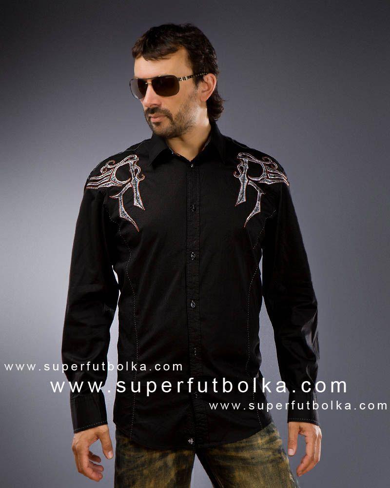 Мужские рубашки вышивка на спине